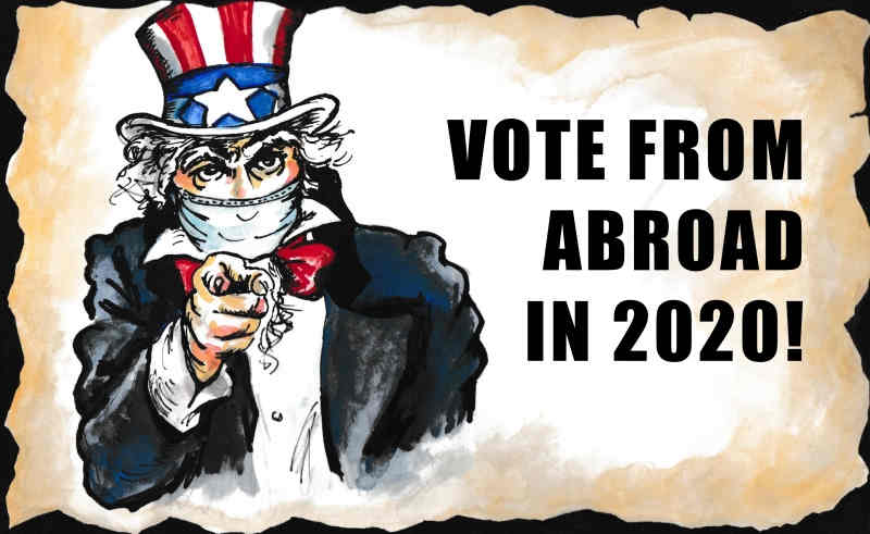 Uncle Sam wants YOU… to vote!