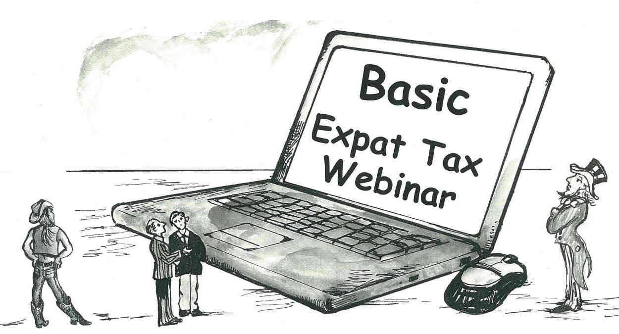 EVENTS: Tax and investing/financial planning webinars on offer for U.S. expats