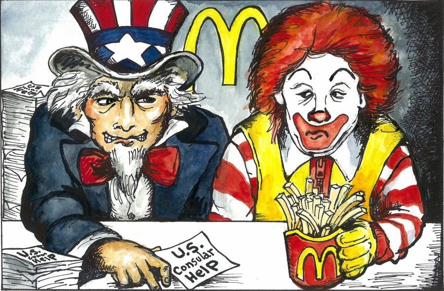 U.S. Embassy in Austria enlists McDonald's to help it reach American citizens 'in distress'