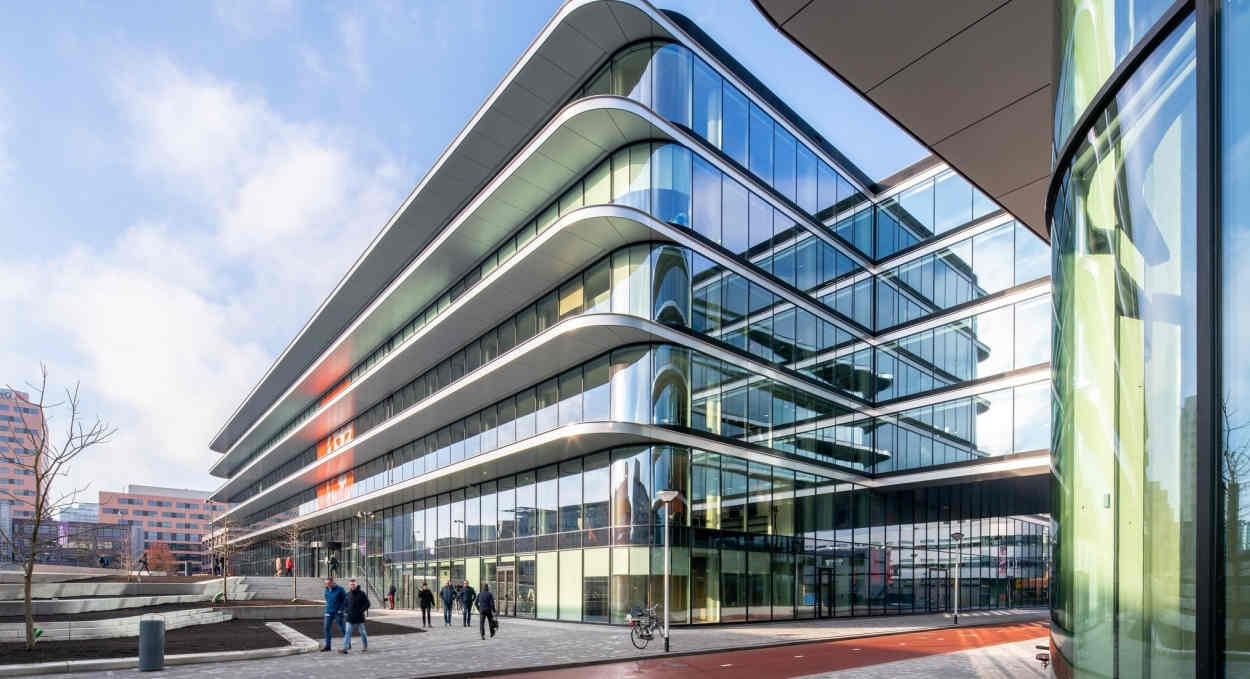 ING Bank's head offices in Amsterdam