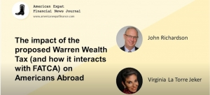 The AXFNJ podcast: 'The impact of the proposed Warren Wealth Tax (and how it would interact with FATCA) on Americans abroad'
