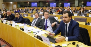 Above, a two-and-a-half-hour hearing the European Parliament held last November in Brussels on the subject of FATCA, at which a number of accidental Americans testified