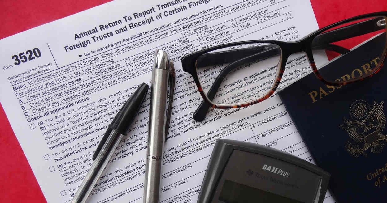 Tax expert warns Americans with Foreign Trust Forms 3520, 3520-A: IRS may be after you