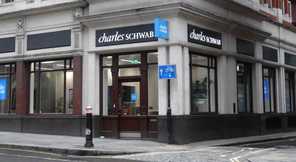 Charles Schwab's London offices