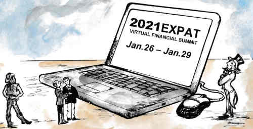 First-ever '2021 Expats Virtual Financial Summit' set for Jan.26 - 29