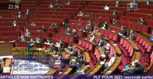 Friday's hearing of the French National Assembly, on the 2021 finance bill