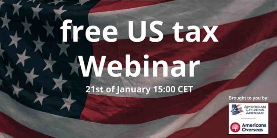 ACA, Americans Overseas tax webinar next week