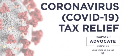 Taxpayer Advocate Service posts online 'Covid-19 Business Tax Relief Tool'